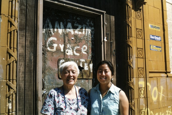 Grace Lee Boggs with Grace Lee