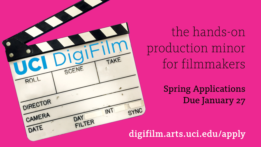 UCI Film Production Application deadline
